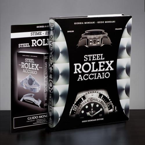 Steel Rolex Book Mondani