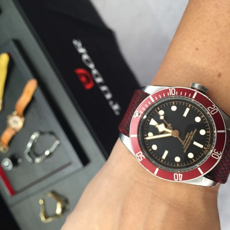 Giorgia Mondani wears the new Tudor watches