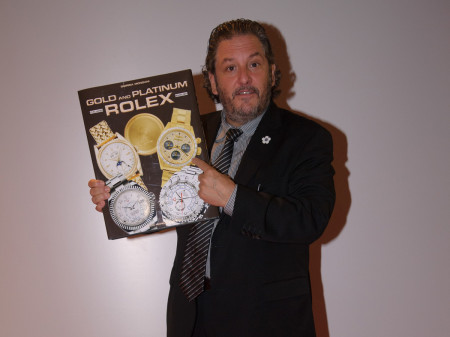 Robert Maron and Rolex gold and platinum book
