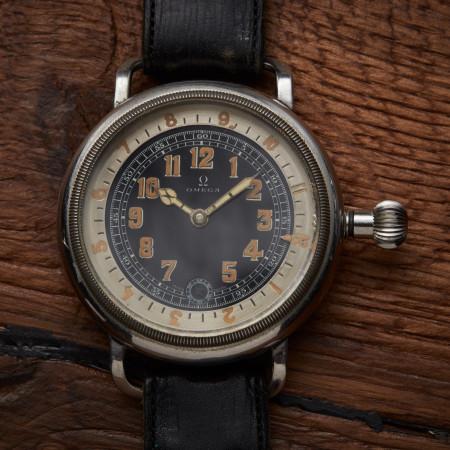 omega pilot's watch