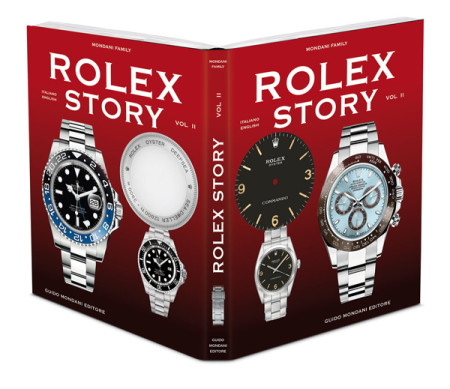 rolex oyster commando in rolex story cover