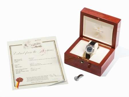 Rolex and Patek Philippe auction
