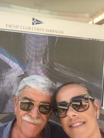 Guido e Franca Mondani alla Rolex Cup