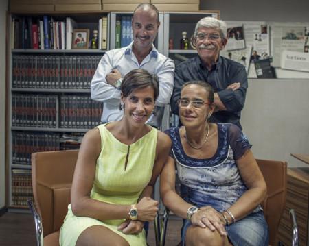 Giorgia Mondani, Daniele Di Murro, Franca Mondani, Guido Mondani