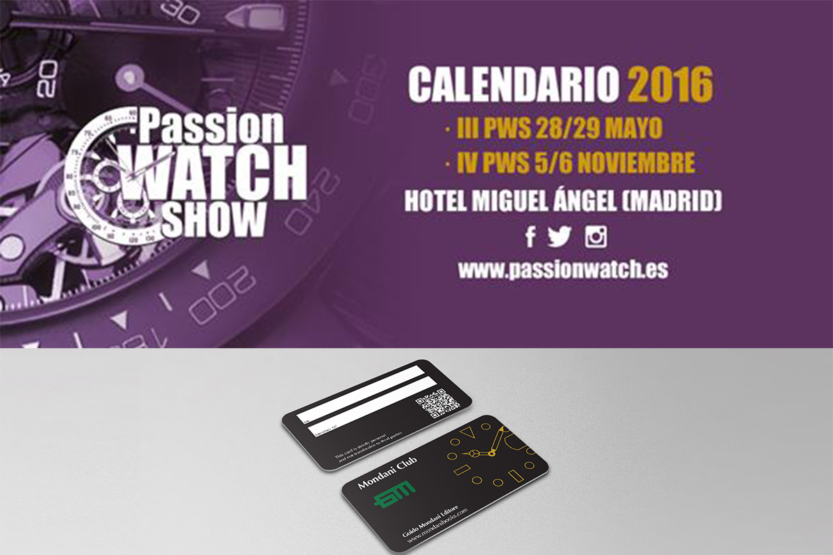 Passion watch show madrid