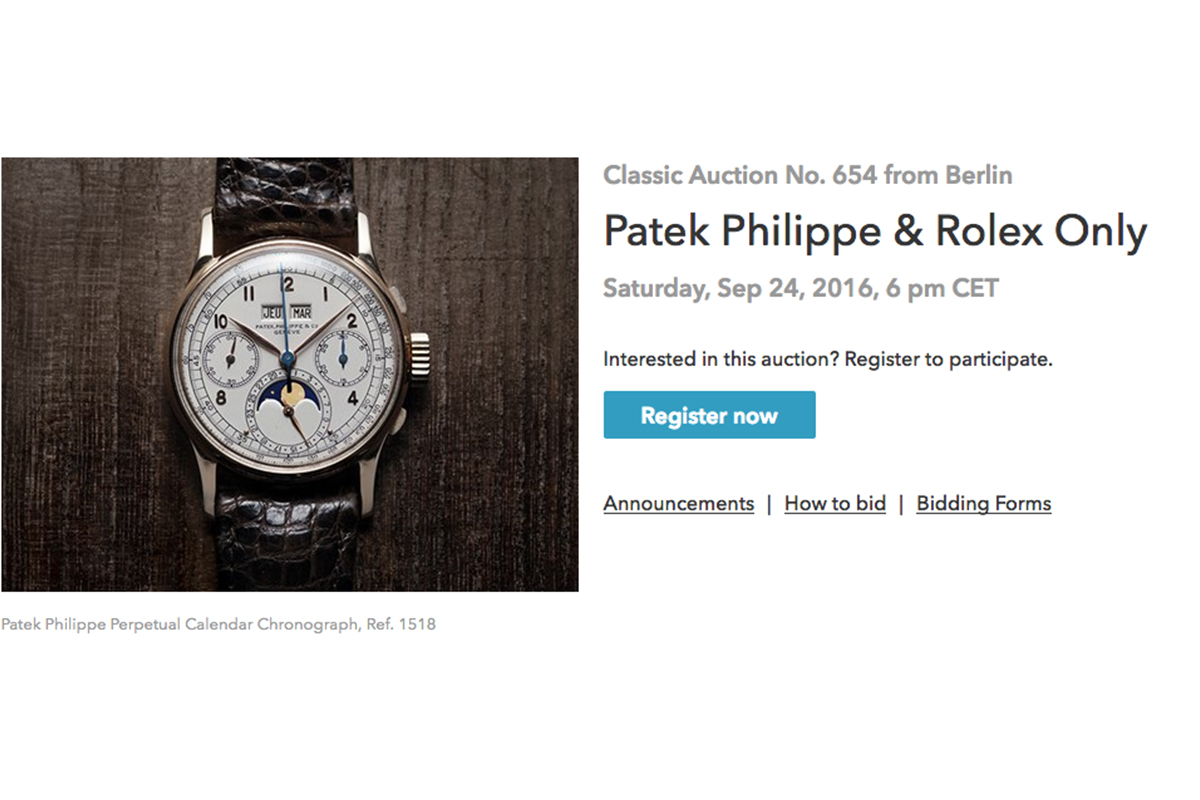 patek philippe and rolex only
