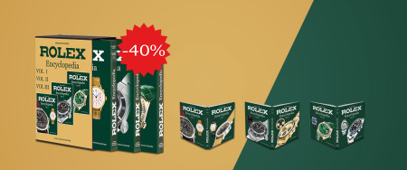Rolex Encyclopedia 3 books set by Mondani